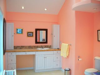 Great Exuma house photo - Master Bathroom, tub & shower