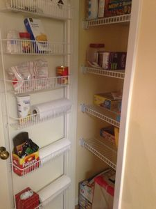 Large food pantry for the those home cooked meals