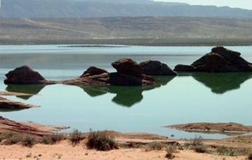 Sand Hollow reservoir - beaches, swimming, boating, OHV within 1 mile of home.