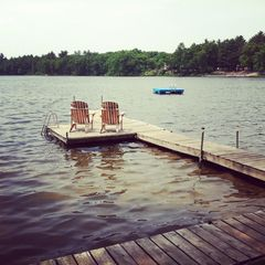 Gowen cottage photo - View of dock and chairs