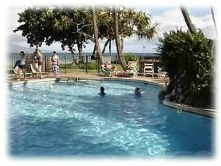 Maalaea condo photo - Wonderful Pool overlooking the Ocean