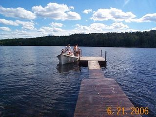 Grand Lake Stream cabin photo - Dock