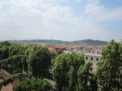 View from accessible commual terrace at the top of the building