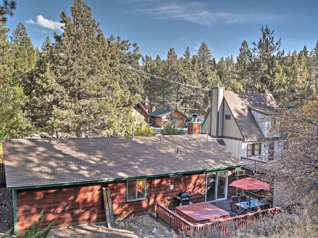 New 3br Big Bear Cabin W Private Hot Tub Vrbo