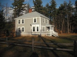 North Conway house photo - Whittaker Woods with nice groomed X country trails or hike right behind home