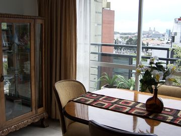 Impeccable Top-Floor Terrace Apartment Suite With Views - Completely Furnished