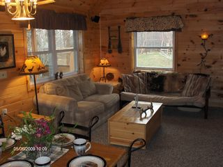 Munising cottage photo - Living Room with additional sleeping.