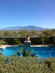 Welcome to Roan Reserve and Beyond to the Catalina Mountains.