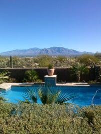 Tucson house rental - Beyond to the Catalinas
