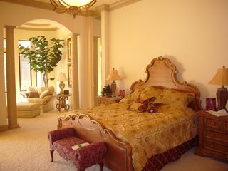 Bonita Springs estate photo - Master bedroom with king size bed