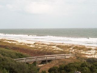 Folly Field condo photo - Spectacula Oceanfront view