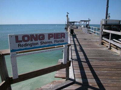 Fishing at the world famous Redington Shore Long Pier.