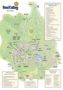 Sun Valley Resort Map