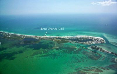 The Boca Grande Club is located on the Gulf side of the island.