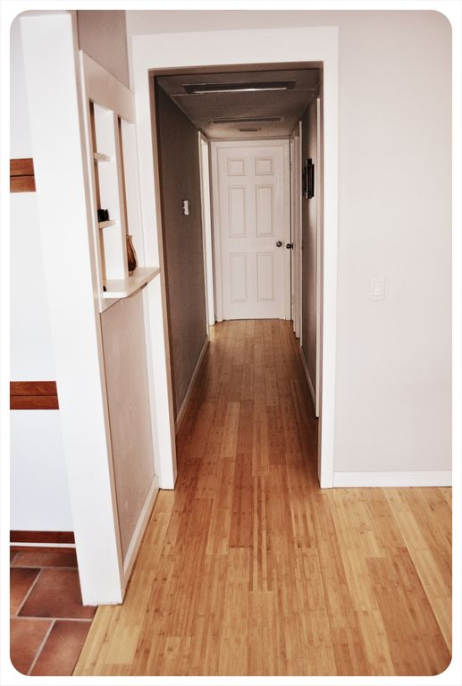 All Bamboo Flooring throughout