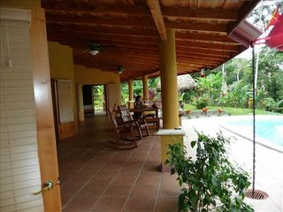 Uvita house photo - Huge Outdoor Terraces- No Mosquitos