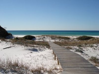 Blue Mountain Beach condo rental - Boardwalk to your Private Beach
