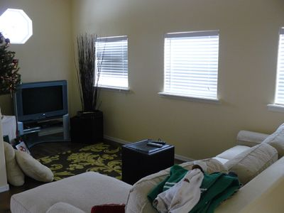 Pinetop cottage rental - Upstairs TV area