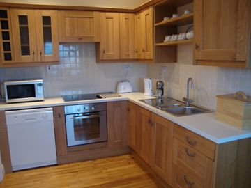 New Oak fitted kitchen