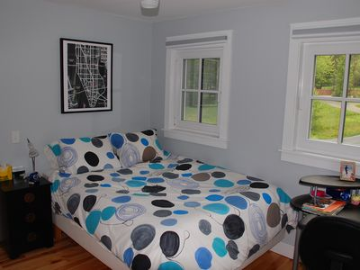 Barnard house rental - Bedroom #2 with queen bed