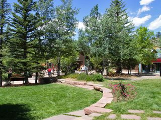 Estes Park condo photo - Confluence Park across the street