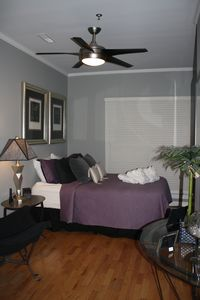 Folly Beach villa rental - Second Queen Guest Bedroom with TV