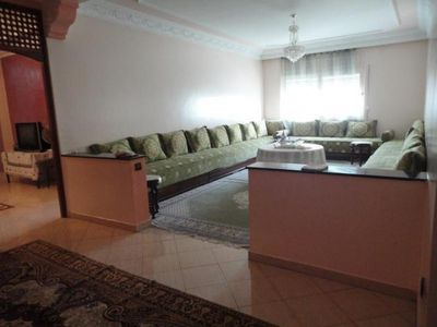 Great apartment in the heart of Casablanca capacity 10 people.