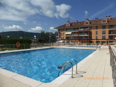 Located at ground floor, terrace, new apartment. Offer Sept and Oct €450 week