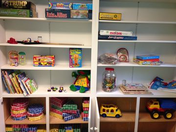 Games, puzzles, blocks, books, dinosaurs, trucks, coloring books... and more