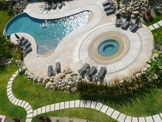 San Jose del Cabo condo photo - One of the three swimming pools (saline water).