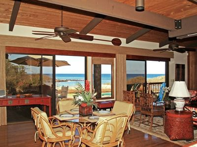 Ocean views from almost every window in this true BEACH HOUSE!