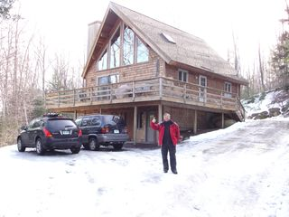 Newbury chalet photo - Front of the House