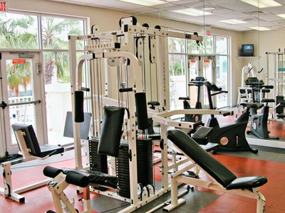 Fitness Center at the Grande Villas Resort