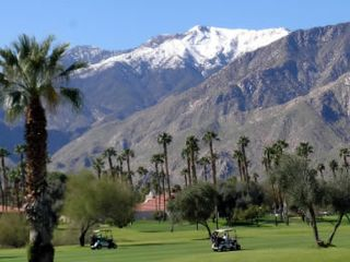 Palm Springs condo photo - 18-hole championship golf course designed by Bert Stamps