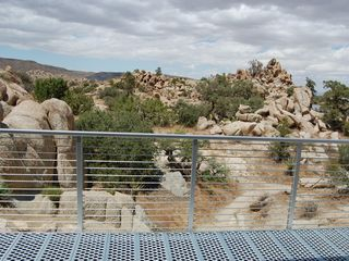 Yucca Valley house photo - View from the front deck.