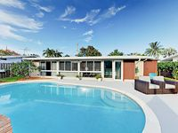 Ultra-Modern and Sleek 3BR Ft. Lauderdale Home on Canal w/ Pool & Dock