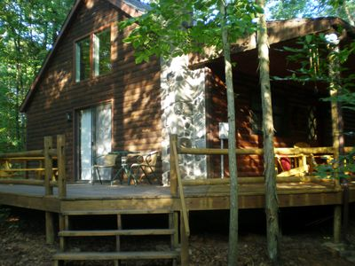 Log Cabin On Sleepy Creek Enjoy The Seclusion And Sounds Of Water