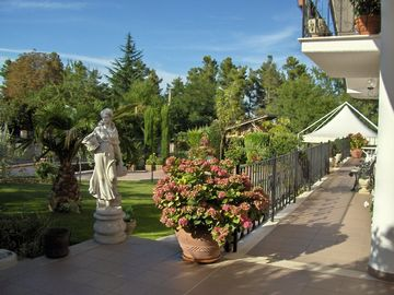 Orsogna villa rental - A tranquil ambience perfect for families