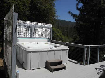 Mariposa house rental - Spa with a view