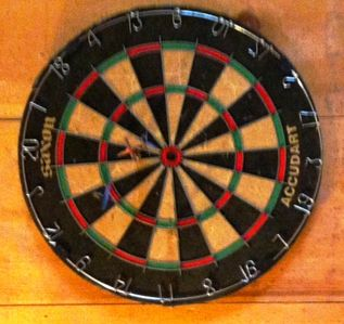 Blowing Rock house rental - Rec Room Dart Board