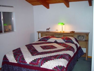 Green Valley Lake cabin rental - Queen Size Bed