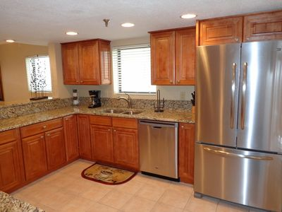 Gulf Front 2BR/2BA~Remodeled Condo with Covered Parking~BEACH SETUP INCLUDED!