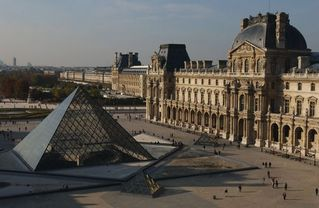 1st Arrondissement Louvre apartment photo - Day view of the Louvre and the beautiful Tuileries Gardens near your Paris home