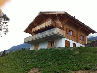 Leysin chalet photo - Chalet as seen from the valley