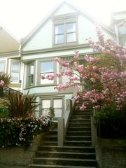 San Francisco apartment photo - Front of the house. Apartment on garden level.