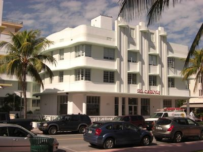 Front of apartment building - 1250 Ocean Drive