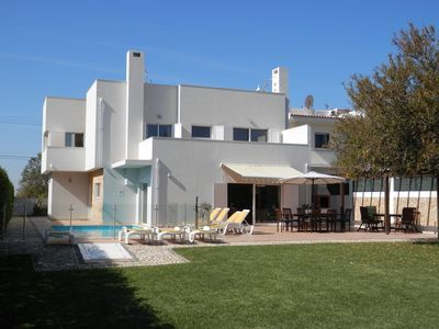 Vila Nova de Cacela villa rental - Luxury 5 Bed Villa w/ pool, large terraces, large beautiful gardens near beaches