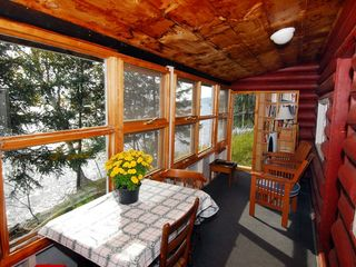 Rangeley Lake cabin photo - Porch