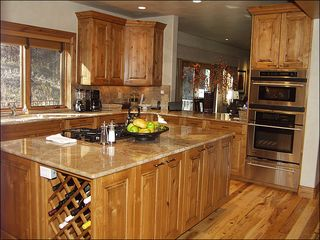Beaver Creek house photo - Granite Counters and Stainless Steel Appliances in the Kitchen