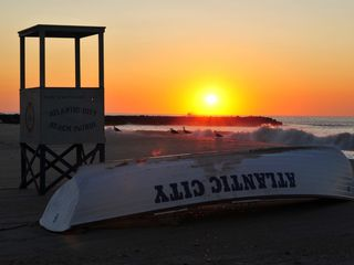 Atlantic City townhome photo - Sunrise on the Atlantic City Beach!
